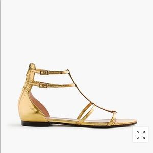 💥 NWOB J.Crew Skinny Strap Gladiator Shoes